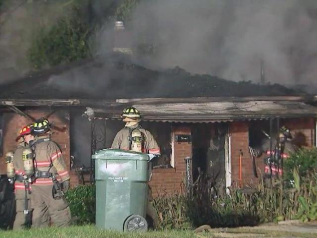Fire destroyed a vacant house early Thursday in the 2500 block of Anacosta Street in Durham.