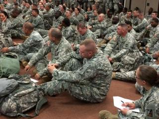 Fort Bragg soldiers receive training for their mission to Africa to help support medical teams treating Ebola patients.