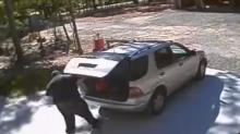 IMAGES: Orange break-in suspect caught on camera
