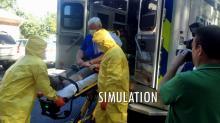 Fayetteville Ebola drill