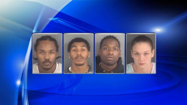 Calik Kentwan Wilson, Shaiki Kent Wilson, Quantae Symel Jones and Amanda Yandle (from left) have been charged in the Aug. 30, 2014, slaying of DeKendric Graham.