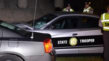 IMAGES: Teenage pedestrian dies after being hit by state trooper in Fayetteville