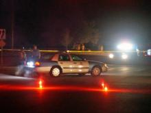 A 24-year-old man died early Tuesday in a single-car wreck on Centennial Parkway near Lake Wheeler Road, police said.