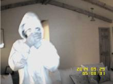 Cary police are distributing video images of a man who they believe is responsible for several daytime burglaries of homes in the area of Two Creeks Road and High Meadows Drive.