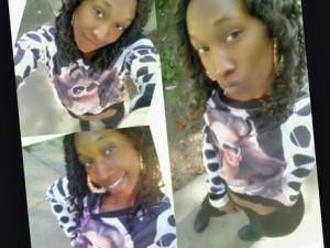 Family members say Shanekqua Adrianna Thompson, 21, was simply in the wrong place at the wrong time.