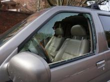 At least 20 cars were vandalized in and around Cameron Village in Raleigh overnight Wednesday, Nov. 5, 2014.