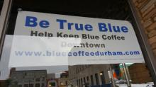 The Blue Coffee Cafe in Durham