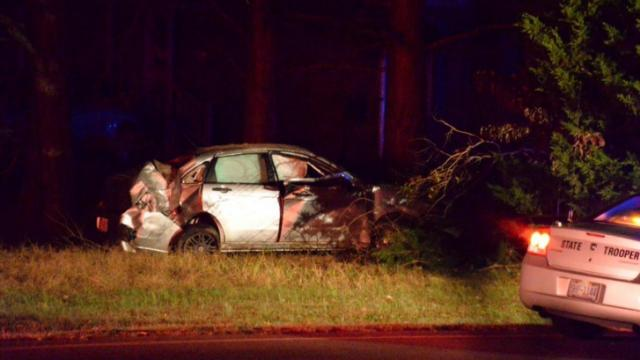 One person was seriously injured after a single vehicle wreck on N.C. Highway 231 near Applewhite Road.