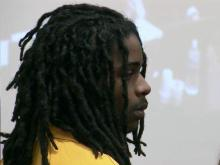 Logan Connail McLean makes his first court appearance Nov. 7, 2014, on a charge of murder in the shooting death of his girfriend, Britny Jordan Puryear, 22.