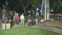 IMAGE: Peace memorial arrives in Raleigh ahead of Veterans Day