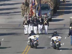 Thousands lined the streets of downtown Fayetteville Saturday morning for the 2014 Veterans Day Parade, the biggest parade honoring veterans in the state.