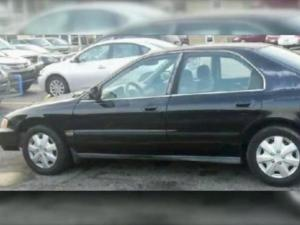 Police are looking for the man who stole a 1996 black Honda Accord, N.C. registration CKC-2756