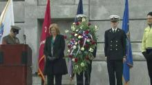 Bell Tower ceremony marks Veterans Day