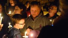 Fuquay-Varina homicide vigil