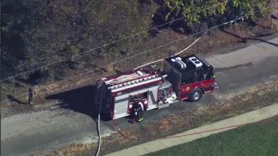 Authorities evacuated about 15 to 20 homes near downtown Holly Springs Wednesday morning due to a gas leak.