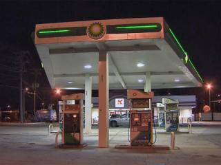 The Kangaroo Express on Hope Valley Road in south Durham was robbed at about 1:20 a.m. Thursday, police said.