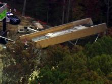 Video shows moments immediately after pedestrian bridge collapse at Wake Tech