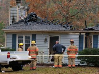 A man was killed in a house fire at a southern Wake County home Monday night. Firefighters were called to 8405 Falcon Crest Circle, located between Fuquay-Varina and Angier, at about 9:30 p.m.