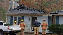 IMAGES: Man, 49, killed in southern Wake County fire