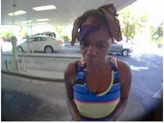 The Cumberland County Sheriff's Office asked for the public's help Wednesday to identify and locate a woman who is wanted for breaking into a vehicle and stealing a person's purse while they attended church services.
