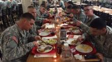 IMAGES: Fort Bragg cooks feed an army for Thanksgiving