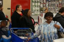 In North Carolina and across the nation, early-bird shoppers headed to stores on Thanksgiving in what's becoming a new holiday tradition.