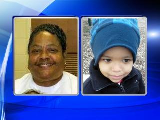 Dora Patterson, left, was killed in a Dec. 3, 2014, house fire in Roanoke Rapids. Three-year-old Caleb Ponton, right, was seriously burned in the fire. (Photos courtesy of family)