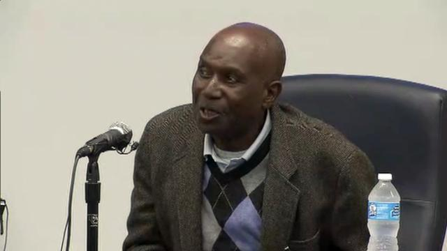 Herman Lee Baker, testifies Dec. 3, 2014, in the North Carolina Innocence Inquiry Commission hearing of Joseph Sledge.