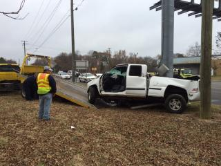 Fayetteville police were asking drivers to avoid Grove Street, near the intersection of North Racepath Street, where a single-vehicle crash was under investigation late Thursday morning.