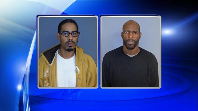 Brandon Hampton, 29, and Mickey Devel Giles, 37, both of Florence, were each charged with robbery with a dangerous weapon and second-degree kidnapping.