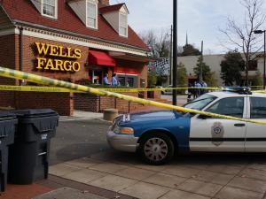 A Wells Fargo bank branch on Hillsborough Street in Raleigh was robbed on Dec. 8, 2014.