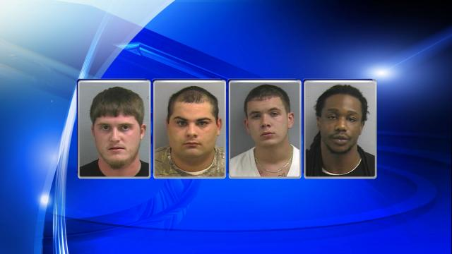 Authorities have charged Rodney Henry Mintz IV, Anthony Derek Strickland, Harley Joe Chavis and Emmanuel Edward Sanders in connection with a fatal home invasion in November 2013.