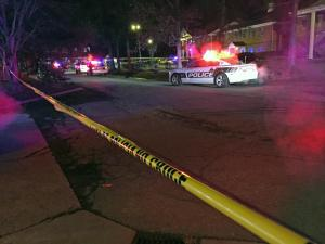 A 28-year-old man was in stable condition early Saturday after being injured late Friday in a drive-by shooting on Sedwick Road in Durham, police said.