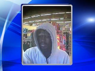 Fayetteville police on Saturday released two surveillance photos from an armed robbery that happened Saturday morning at a Family Dollar on Person Street.