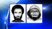 Rape, robbery suspects