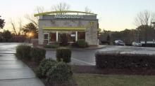 IMAGES: Employee injured in attempted armed robbery at Raleigh McDonald's