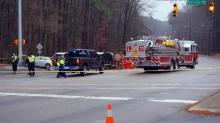 IMAGES: One killed in Durham wreck