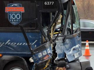 Several people were hurt on Dec. 24, 2014, when a Greyhound bus crashed into a State Highway Patrol cruiser on eastbound Interstate 85/40 near Mebane.