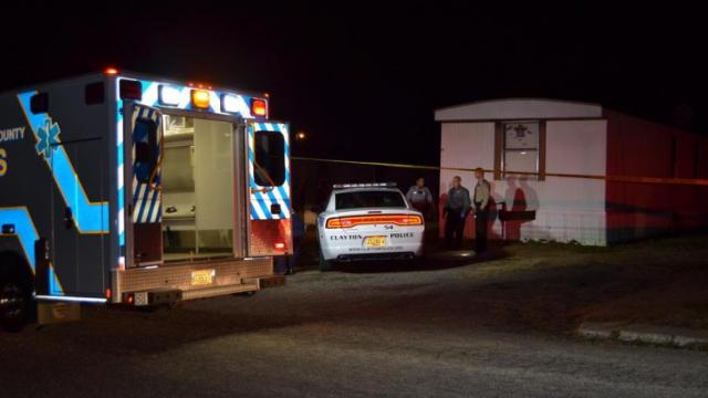 A 28-year-old Clayton man was killed in a shooting at Alta Mobile Home Park in the 1000 block of South Lombard Street early Sunday, Dec. 28, 2014. (Photo courtesy of Town of Clayton)