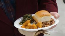 IMAGES: Annual Black Eyed Pea lunch held in Fayetteville