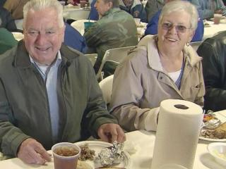 Some have been coming to the New Year's Day luncheon at Harnett Trading Company for decades.
