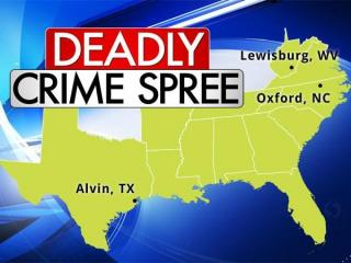 Multi-state crime spree