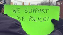 IMAGE: Communities across the Triangle show support for local police officers