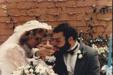 Edward Watson Campbell and Chrystal Daugherty from their 1984 wedding. (Submitted by Chrystal Daugherty)