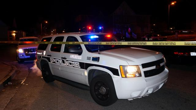 A person was found, shot and dead, on East Main Street in Durham early Jan. 6, 2015.