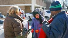 IMAGES: Volunteers, HVAC companies help keep Triangle residents warm