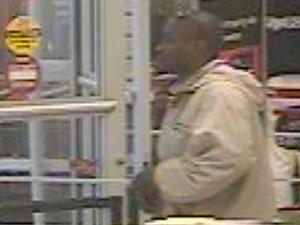 Goldsboro police are looking for the man in this video, taken Dec. 24, 2014, in connection with reports that he exposed himself to two women at a T.J. Maxx store on North Berkeley Boulevard.