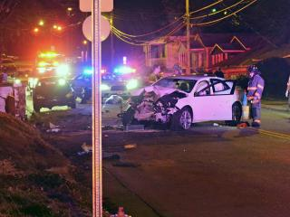 A man suffered non-life-threatening injuries Friday night when he was shot inside of his car on East Enterprise Street.