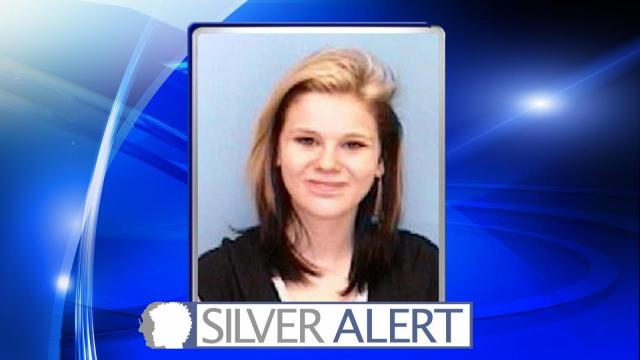 Authorities issued a Silver Alert early Tuesday for Kristin Elizabeth Cannon, 20, of Fayetteville.