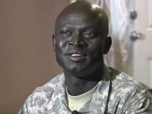 Bragg soldier grew up as 'lost boy of Sudan'